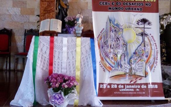 Ícones do 14º Intereclesial na Arquidiocese de Londrina