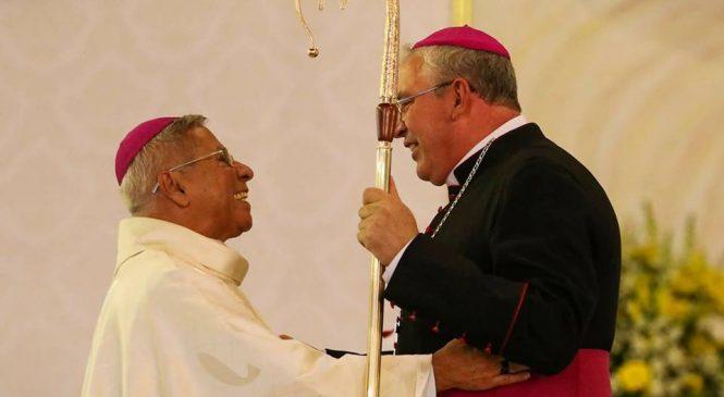 Dom Geremias toma Posse como Arcebispo de Londrina