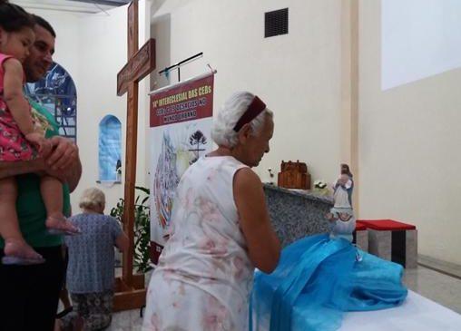 Ícones do 14º  são acolhidos na Festa de Santa Cruz Decanato Norte Londrina