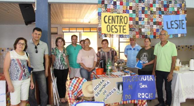 Coordenadores da Hospedagem do Intereclesial celebram a alegria da acolhida
