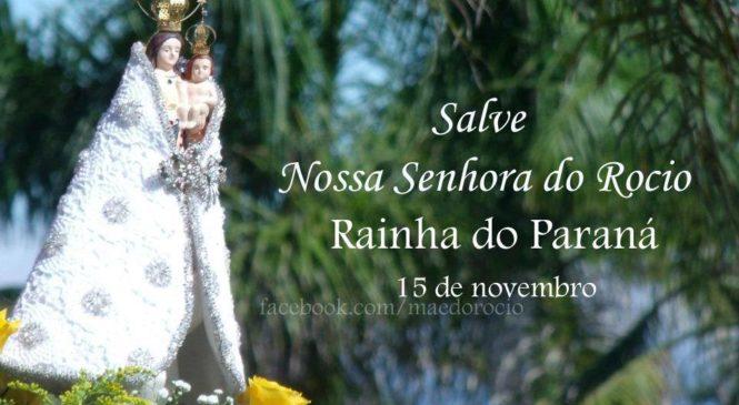 NOSSA SENHORA DO ROCIO – PADROEIRA DO PARANÁ… Mãe que acolhe o Intereclesial