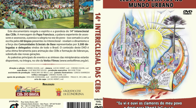 Verbo Filmes lança DVD do 14º Intereclesial das CEBs do Brasil
