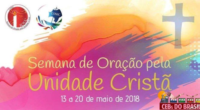 """Semana de Oração pela Unidade dos Cristãos- EX 15, 1-21 """"A mão de Deus nos une e liberta""""."""