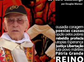 """""""ME CHAMARÃO SUBVERSIVO"""": 90 ANOS, 90 FOTOS DE PEDRO CASALDÁLIGA: Exposição fotográfica em Passos MG: por Douglas Mansur."""