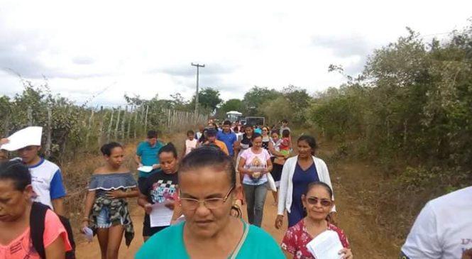 1° ROMARIA do  MARTIRIO DE BENEDITO TONHO. Frecheirinha. Comunidade de Penaduba.