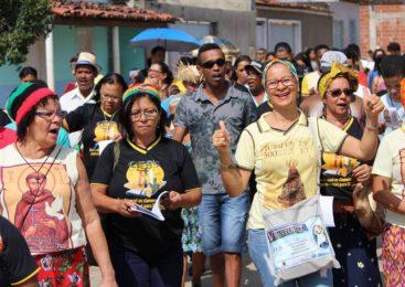 As pastorais sociais e a opção preferencial pelos pobres. Encontrão das CEBs do Vicariato São João, na cidade de Maiquinique-BA