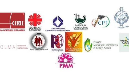 Pastorais Sociais da Igreja Católica denunciam movimento antidemocrático em curso.