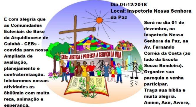 CEBs da Arquidiocese de Cuiabá avaliam caminhada e traçam planos para 2019