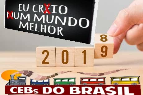 Para que esse ano possa ser novo. Marcelo Barros