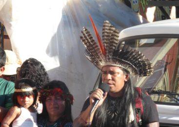 Indígenas se mobilizam em Manaus contra MP 870