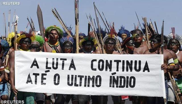 Resistência indígena e nossa defesa. Marcelo Barros